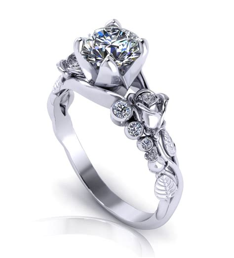 Unique Wedding Rings by Unique Engagement Rings Jewelry Designs