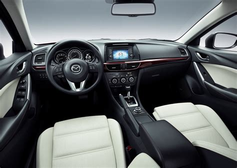 mazda dashboard 2013 mazda6 official pictures and details photos 1 of 13