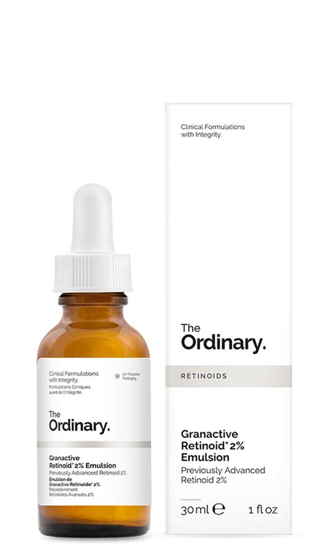 The Ordinary Advanced Retinoid 2 Granactive Retinoid 2 Emulsion 1 the ordinary granactive retinoid 2 emulsion previously advanced retinoid 2 30ml