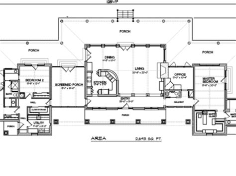 2 Bedroom Rambler Plans 1 Story Ranch Style House Plans Mexzhouse