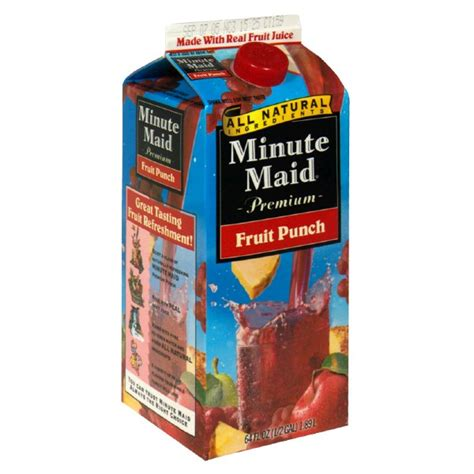 minute light fruit punch nutrition facts minute coolers fruit punch nutrition facts