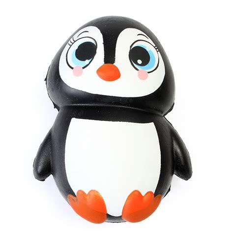 Hunting And Fishing Home Decor Squishy Penguin Jumbo 13cm Slow Rising Soft Kawaii Cute