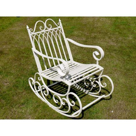 Wrought Iron Patio Rockers - prestwich avenue wrought iron garden rocking chair