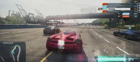 nfs most wanted: online features gamersyde