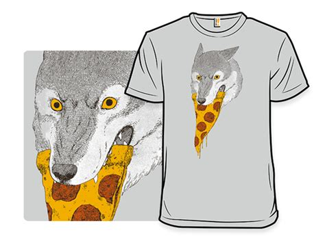 T Shirt 1d Baam Best Quality pizza wolf