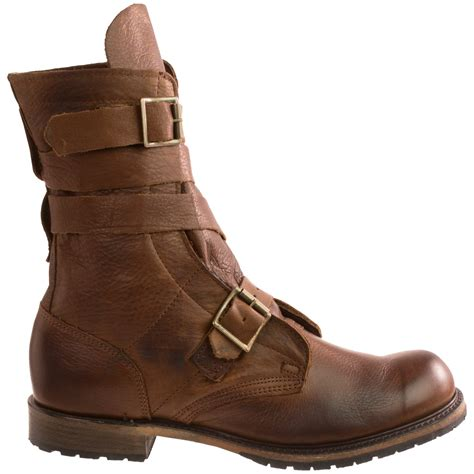 mens vintage boots vintage shoe company isaac tanker boots for 9424n