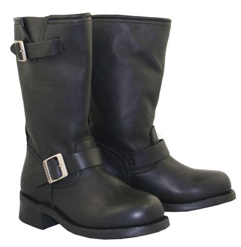 womens biker boots with heels men s engineer black leather biker motorcycle boots