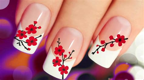 Painting Your Nails by 6 Nail Paint Design 2017