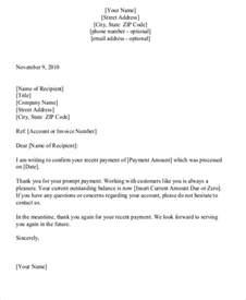 sle payment received receipt letter 6 exles in