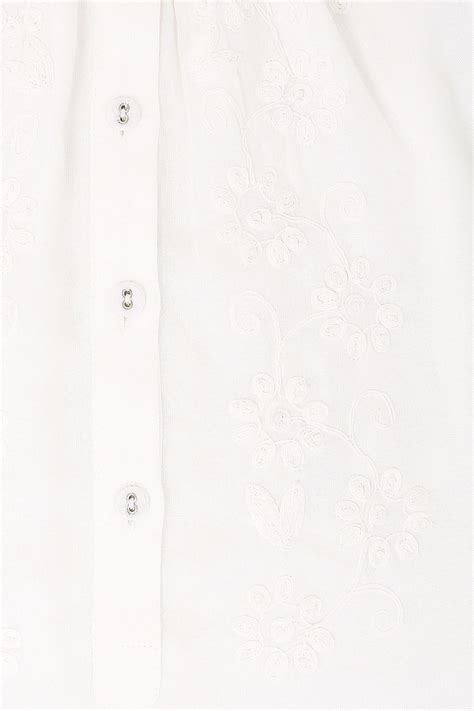 Flatshoes Ribbon Sm 21 Salem Limited ivory button up blouse with embroidery detail plus size 16 to 36