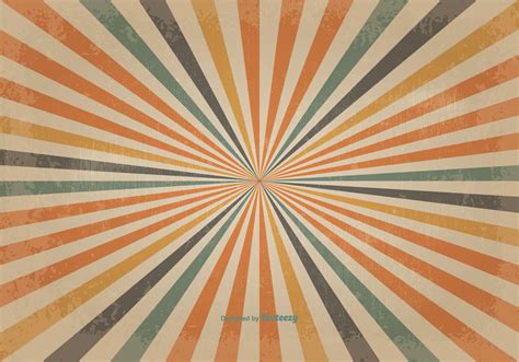 background retro retro colored sunburst vector background download free