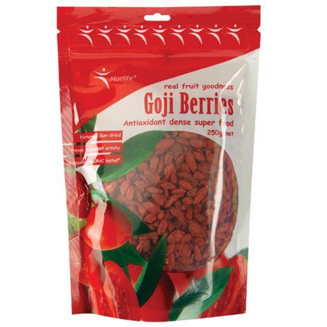 Goji Berry Dried 225 Gram dried goji berries morlife 250g shop australia