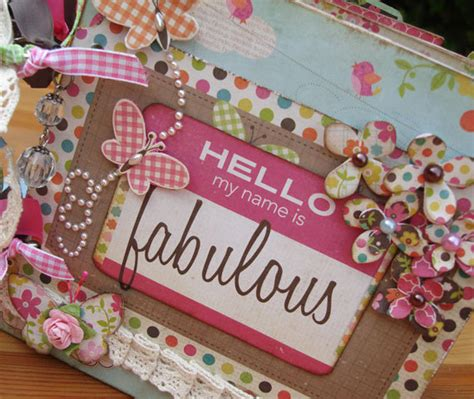 Handmade Scrapbook Album - scrapbook album mini album scrapbook mini album birthday