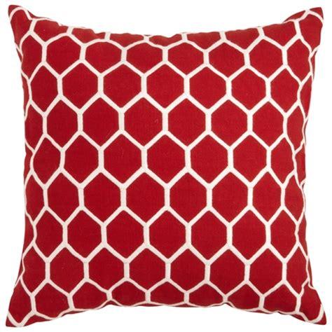 red cusions avenue soft kick 50cm red cushion