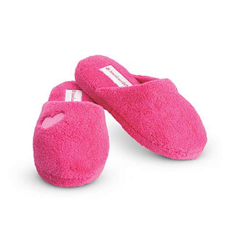girls house shoes image pinkslippers girls jpg american girl wiki