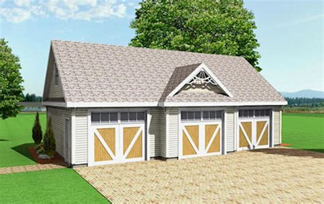 square feet of 3 car garage farmhouse style house plan 0 beds 0 00 baths 1036 sq ft