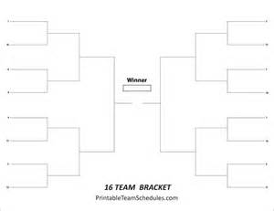 16 team bracket template 17 best images about tournament brackets free printable