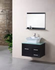 sink floating vanity vessel sink vanity with single sink for tiny bathroom