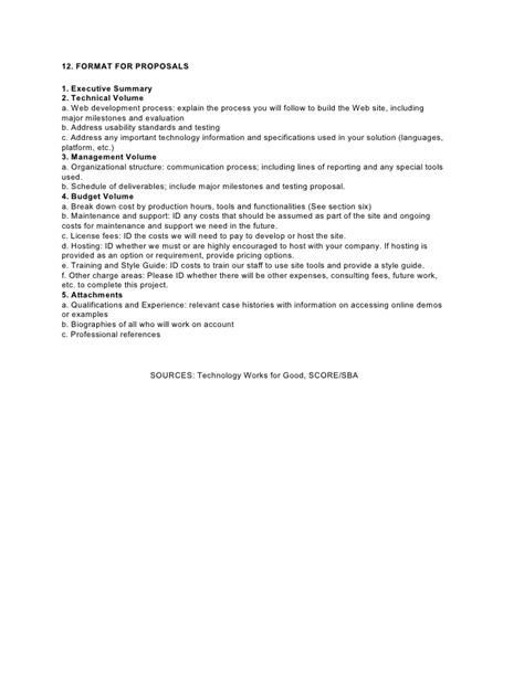 Rfp Template Doc by S C O R E Rfp Template Doc