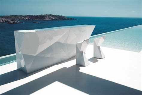 Origami Bar - faceted designs that add origami flair to the d 233 cor