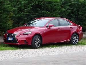Lexus Is 300h Sport Test Drive Lexus Is 300h F Sport