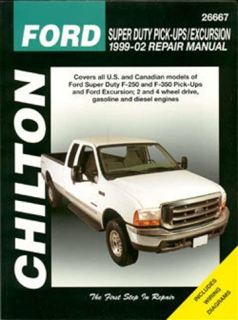 1999 2010 haynes ford super duty f 250 f 350 repair manual ebay ford super duty f 250 f 350 excursion 1999 2010 repair manual