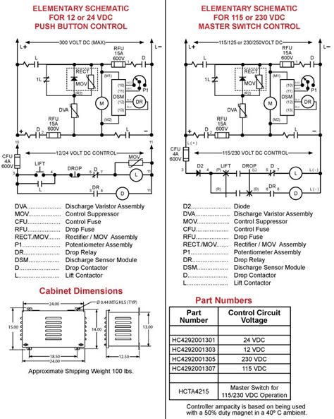 hubbell lift wiring diagram wiring diagrams wiring diagrams