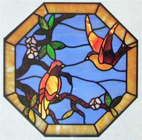ebay stained glass ls stained glass patterns full size cke birds and flowers