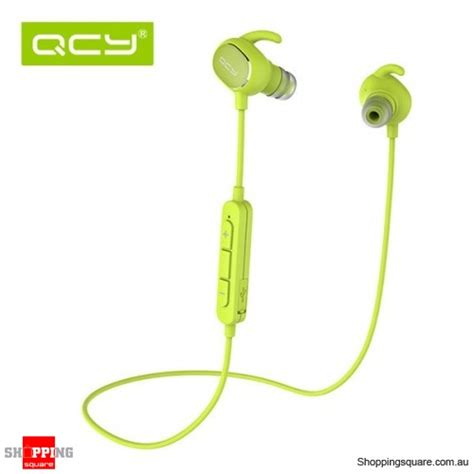 Earphone Bluetooth Qcy Qy19 With Mic Black qcy qy19 phantom wireless bluetooth 4 1 sport anti sweat