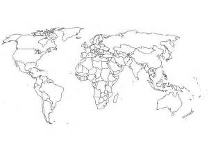 world map coloring page amp coloring book