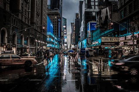 In New York in new york backgrounds cities laptop new york united states manhattan skyscrapers