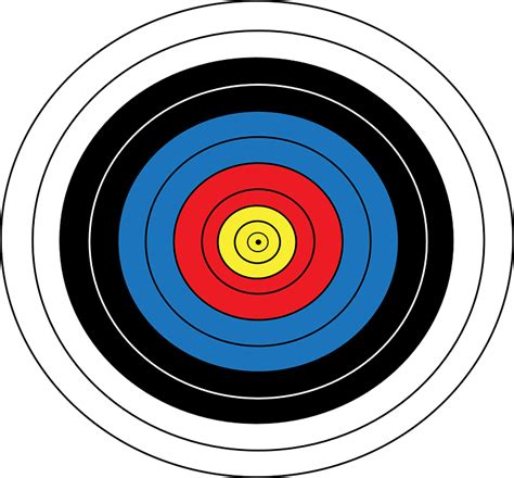 l target image vectorielle gratuite tir 192 l arc jeux image