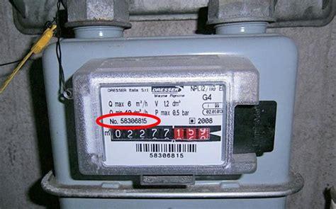 contatore gas in casa dove trovo il numero di matricola contatore gas
