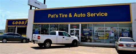 pats tire auto repair midwest city   local
