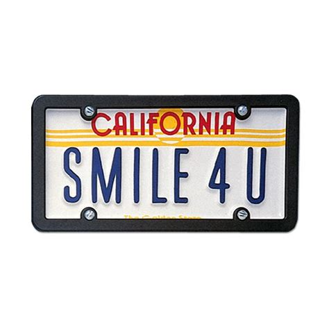 usa custom order license plate california golden state