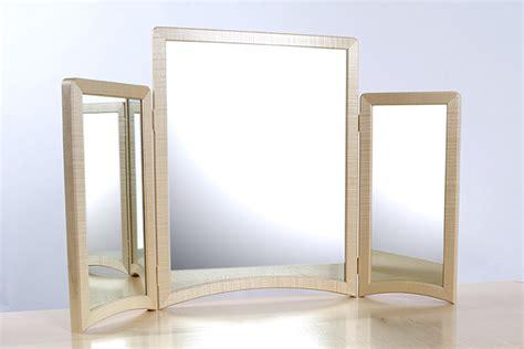 tri fold mirror medicine mirrors extraodinary tri fold mirrors tri fold floor
