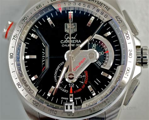 Hands on Review: Grand Carrera Calibre 36 RS   The Home of TAG Heuer Collectors