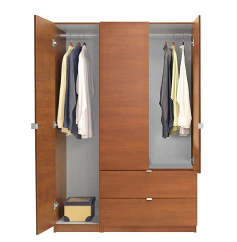 3 Door Armoire Wardrobe Alta Wardrobe Armoire Package 3 Door 2 Drawer Package