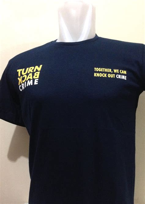 Kaos Tbc jual beli kaos turn back crime caign series tbc shirt
