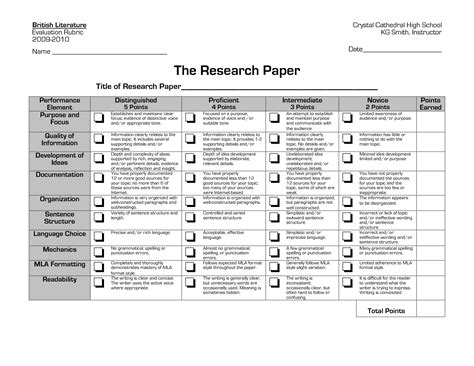 middle school research paper rubric research paper rubric middle school essays