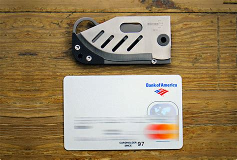 boker credit card knife small credit card knife by boker