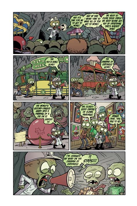 plants vs zombies volume 6 boom boom plants vs zombies volume 6 boom boom hc