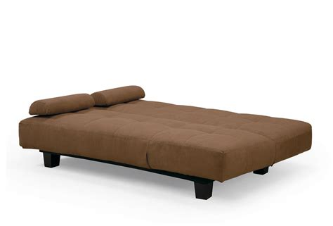 convertible couch bed sofia java casual convertible sofa bed by lifestyle