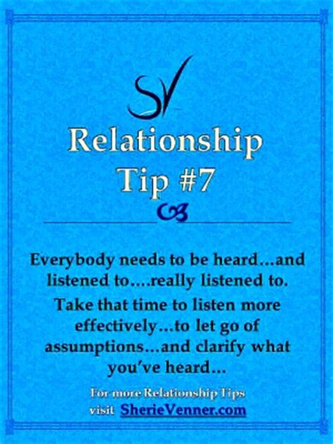 7 Daily Relationship Tips For Your by Relationship Tips 7 Listen Is Anybody Really Listening