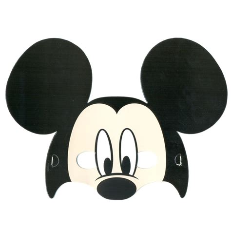 printable mickey mouse mask template mouse mask template