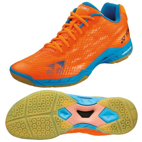 Sepatu Badminton Yonex Power Cushion Aerus Mens New 2017 yonex power cushion aerus mens badminton shoes sweatband
