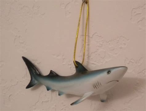 shark christmas holiday ornament or use year round 14245