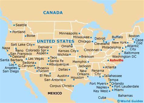 carolina on us map asheville maps and orientation asheville carolina
