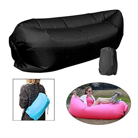 airbag couch banana bed air lounger fast inflatable air bag bed sofa