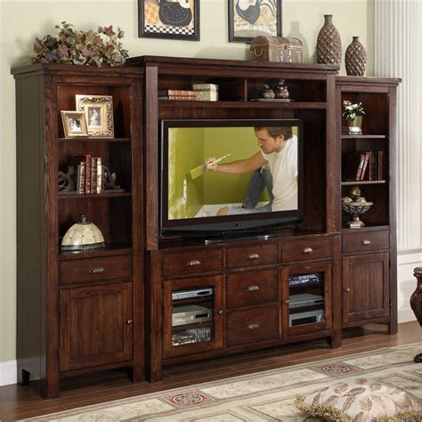The Home Decorating Company Coupons by Castlewood Entertainment Center In Warm Tobacco 33541 42